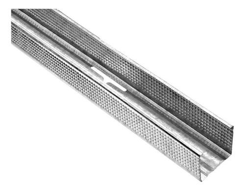 montante 35mm p/ durlock - knauf - tabiques - 6 c u o t a s