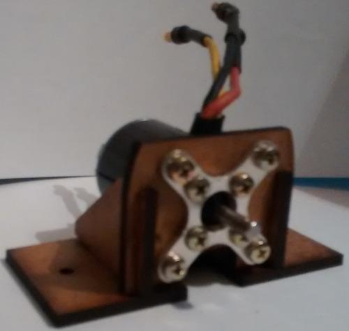 montante asa zagi mdf 3mm corte laser fixação da cruzeta