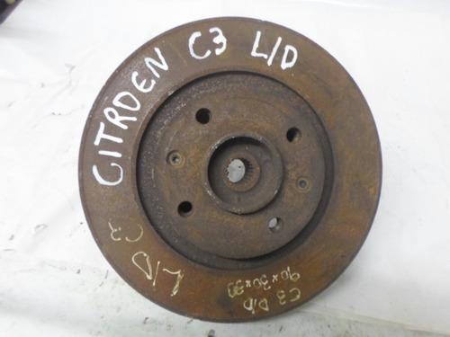 montante (manga) de eixo dianteiro dreito - citroen c3