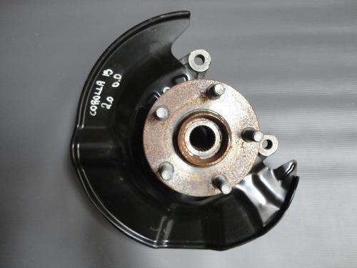 montante/cubo de roda direito toyota corolla 2.0 2015