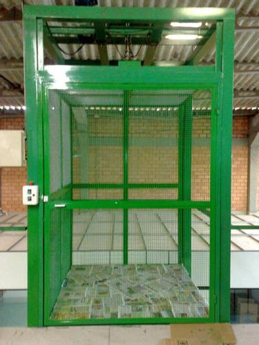 montaplatos y elevadores de carga