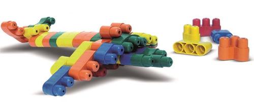 montar brinquedo blocos