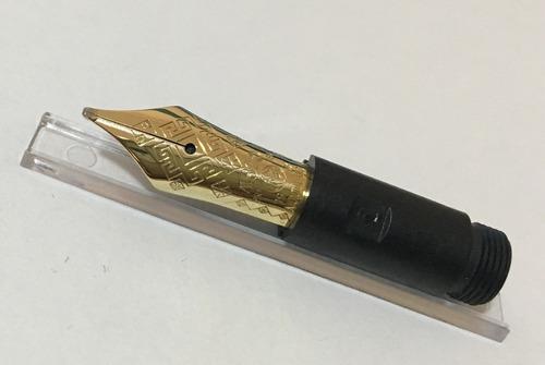 montblanc dostoevsky pena b 18k para caneta ed tinteiro