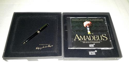 montblanc meisterstuck bolígrafo p116 + cd mozart