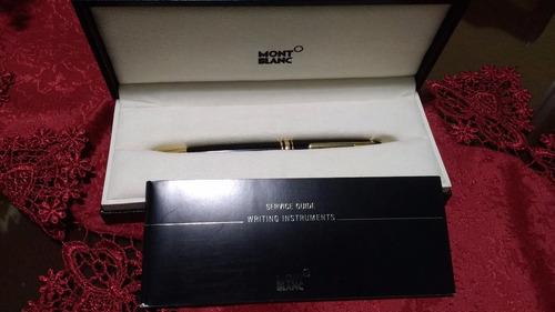 montblanc meisterstuck classique bolígrafo negro 164