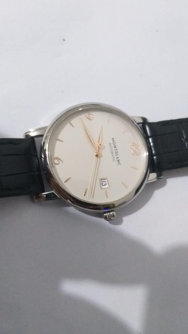 3dc61c12e63 Montblanc Star Classic Date Automatic 110717 De R$ 8999 - R$ 2.999 ...