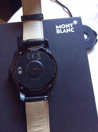 montblanc summit - ms744517 - smartwatch - barato