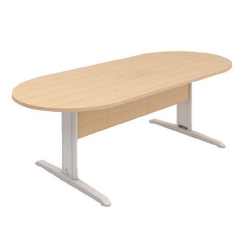 monte a sua sala de reunião mesa  oval em 25mm 200x90x74cm