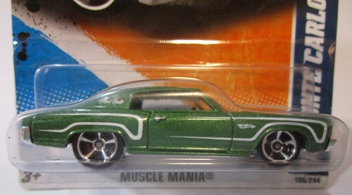 monte carlo escala 1/64 coleccion hot wheels r52b