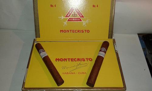 montecristo nro 4 caja x 25 habanos-cuba-100%tabaco-original