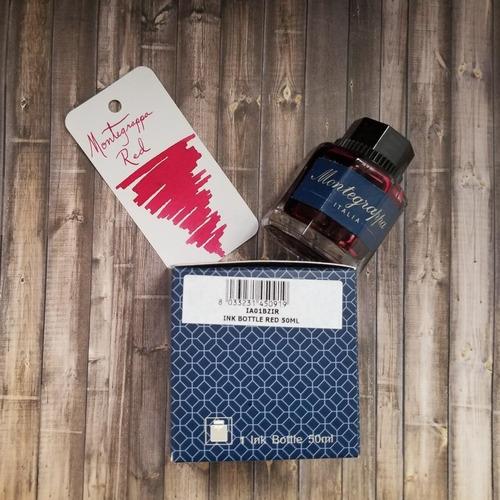 montegrappa ink tinta roja 50ml pluma fuente diego vez