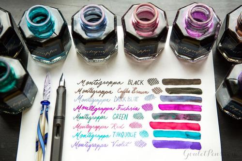 montegrappa tinta verde 50ml pluma fuente ink diego vez