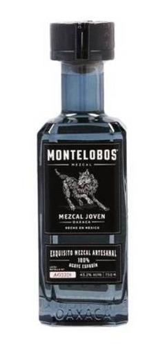montelobos mezcal artesanal joven 100% agave botella 750 ml