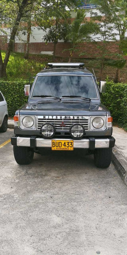 montero mitsubishi wagon 1992, cabina de lujo, incomparable