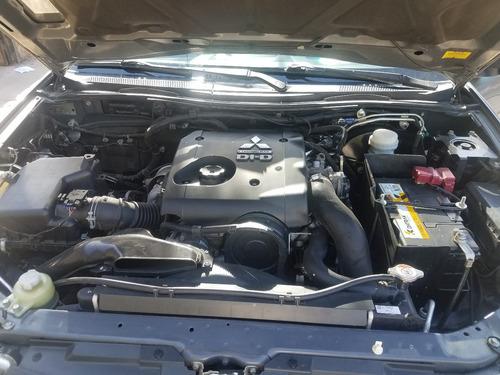montero sport g2 año 2014 diesel mecánica 4x2 con gps antiro