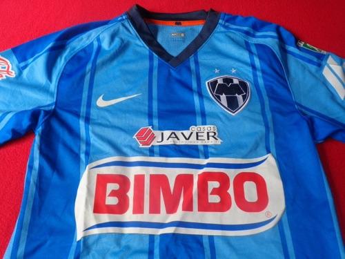 monterrey jersey liga mx celeste lucho futbol soccer