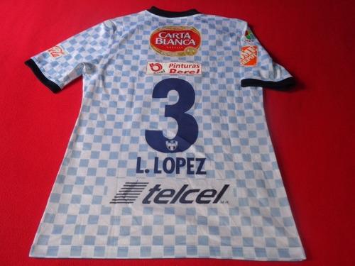 monterrey jersey liga mx lopez  futbol soccer
