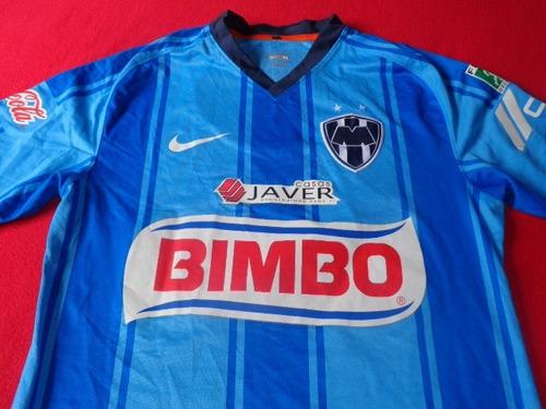 monterrey jersey liga mx ordaz celeste futbol soccer