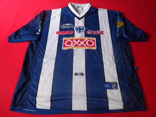 monterrey jersey retro futbol soccer oxxo