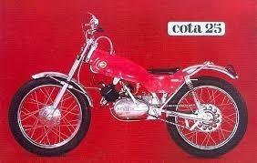 montesa cota 25 1971
