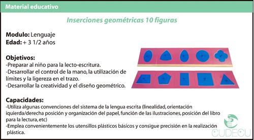 montessori materiales didacticos