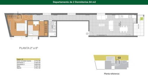 montevideo 300. 2 dormitorios con amplia financiación!
