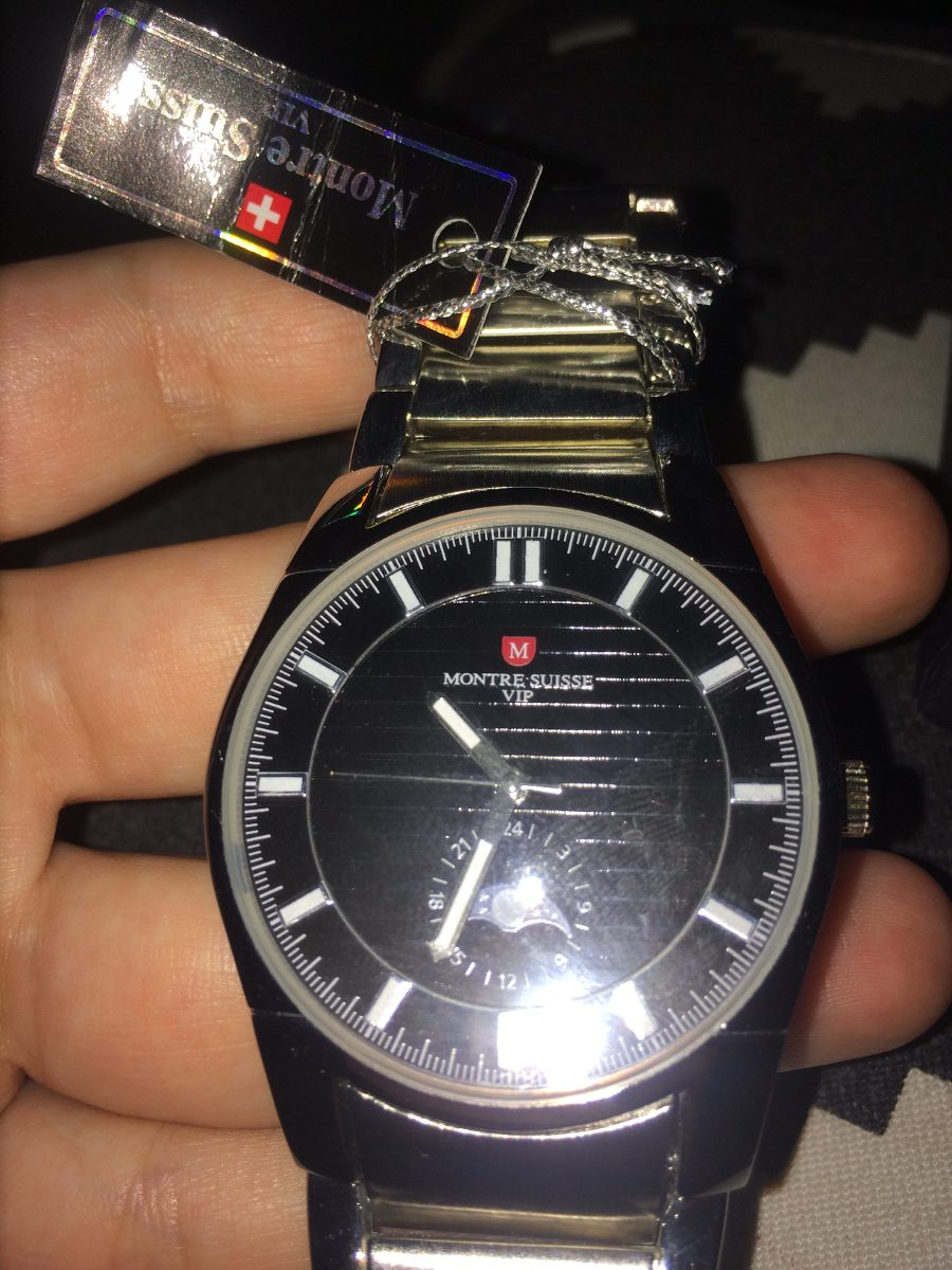 e84e08b43b3e Reloj De Lujo Montre Suisse Vip -   70.000 en Mercado Libre