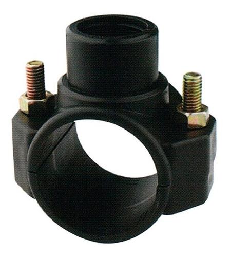 montura abrazadera riego para caño tuberias pvc 40mm x 1/2''