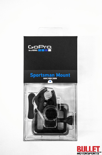 montura caña arco rifle airsoft sportsman gopro - inteldeals