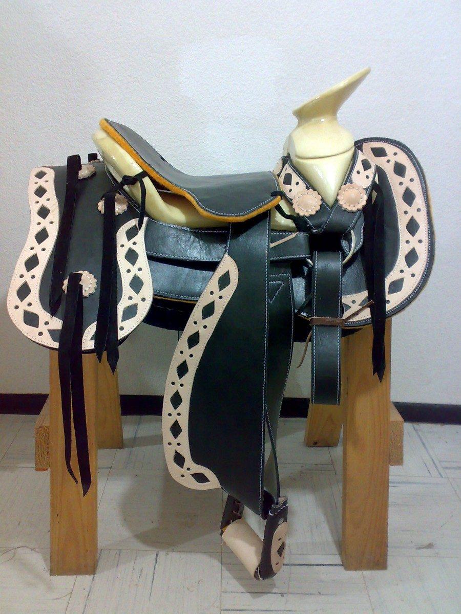 Montura charra o silla de montar env o gratis 6 en mercado libre - Silla montar caballo ...