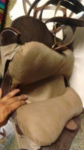 montura chilena completa cuero cabezada matra estribo cincha