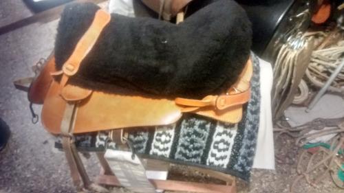 montura chilena completa silla cabezada freno cincha estribo