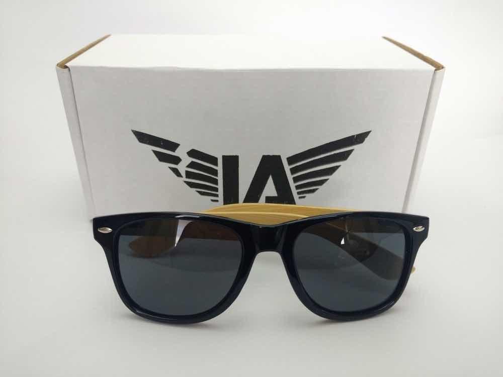 6496a7c9057ab Montura + Gafas De Madera + Transition 7ma Generación + A.r. ...