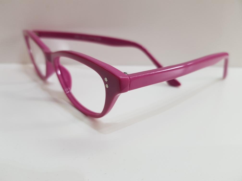 4c354f6a41 Montura Gafas De Moda Pin Up Vintage Para Vista Rosa - $ 350,00 en ...
