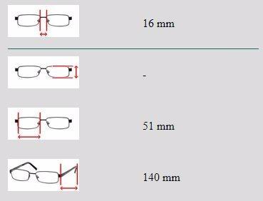 montura gafas para