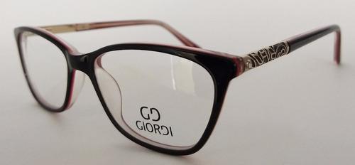 montura gafas para lentes de fórmulas gd005