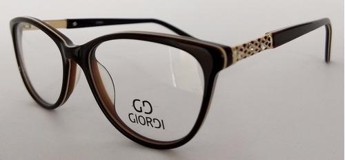 montura gafas para lentes de fórmulas gd009