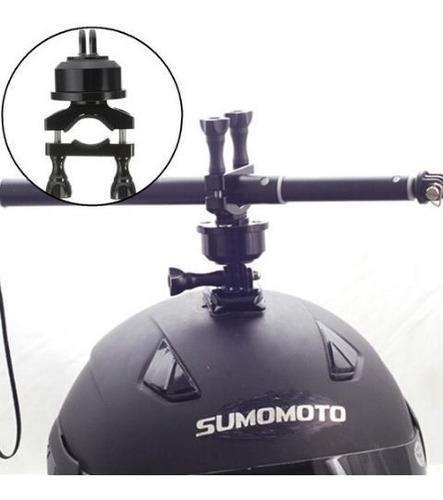 montura giratoria rotor 360º casco compatible gopro