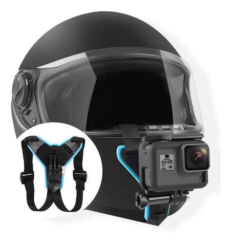 montura gopro hero 7/6/5/4 para casco de moto