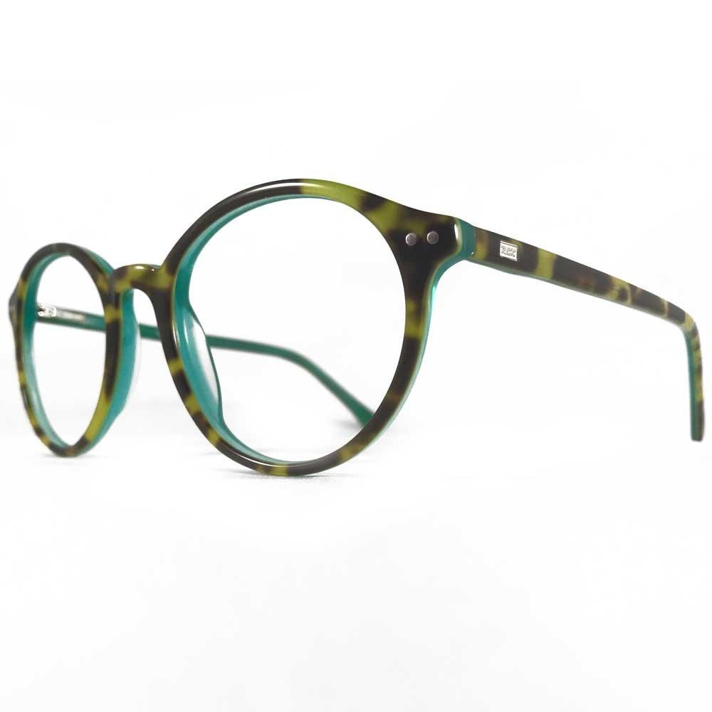 Asombroso Monturas De Gafas Verde Azulado Viñeta - Ideas ...