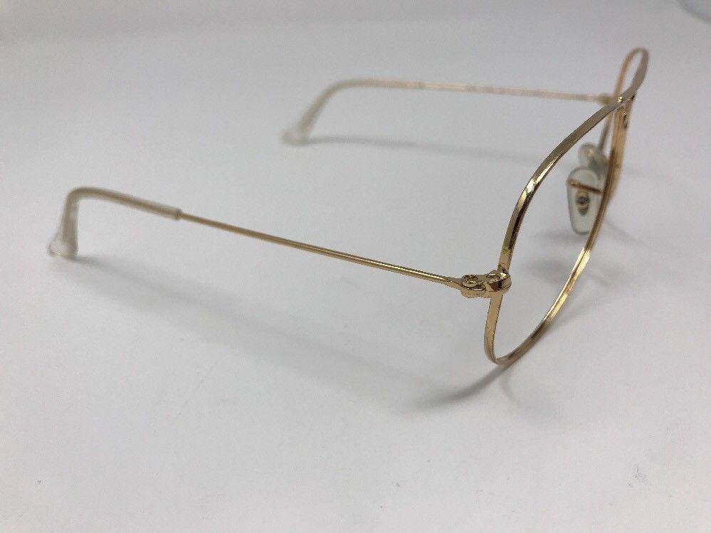 39c7850d933c2 montura medida lentes rayban 3025 dorado clasico aviador rb. Cargando zoom.