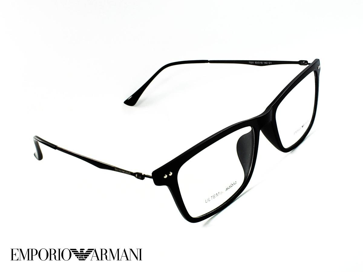 72c08d0cf2 montura óptica emporio armani 53-19mm black® iron opt0059. Cargando zoom.