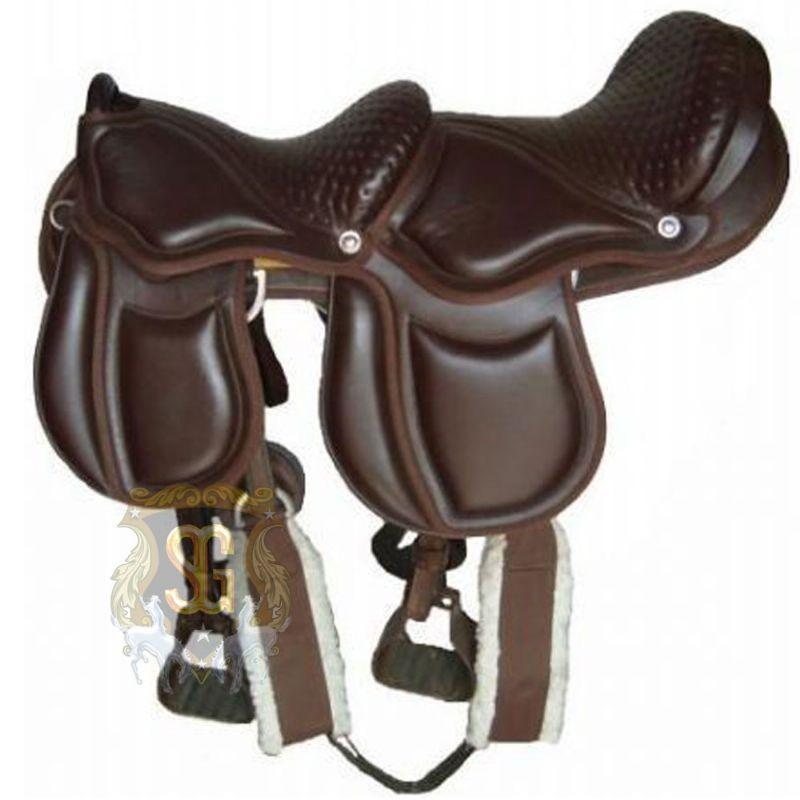 montura para caballos doble australina importada 19