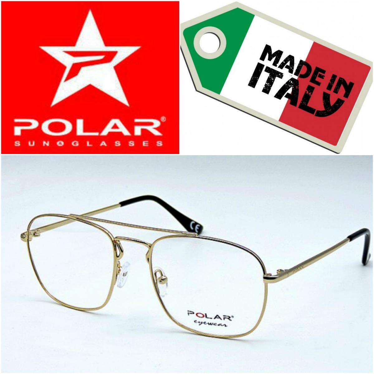 44895f5eeb montura para gafas lentes formulados, marca polar, italiana. Cargando zoom.