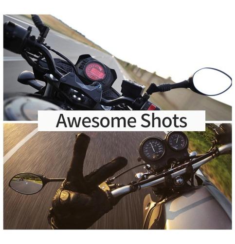 montura para gopro en casco de motocicleta gopro hero7/6/5/4