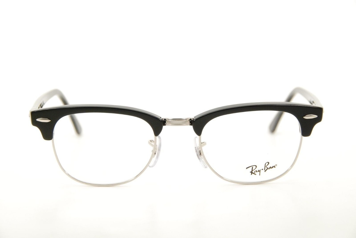 072cb17ab0 montura rayban clubmaster negros plata clasico lentes rb5154. Cargando zoom.