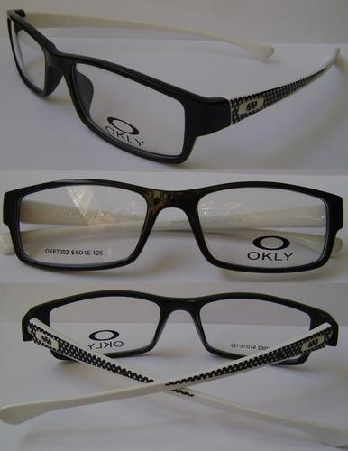 monturas de lentes okly a la moda oferta