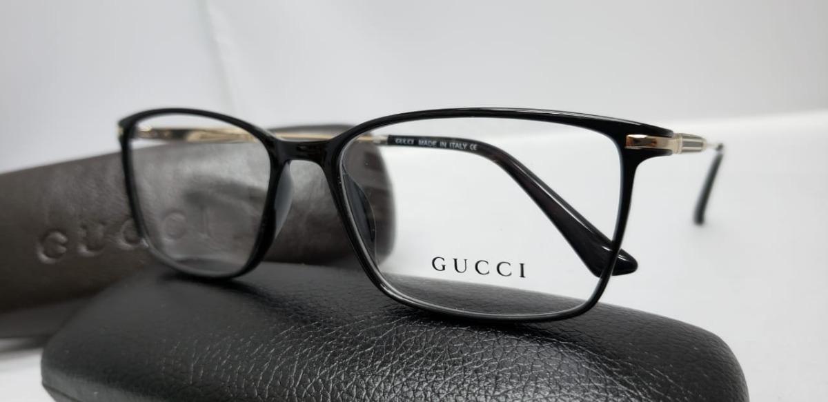 bcac82021 Bonito Gucci Hombre Monturas De Gafas Colección de Imágenes - Ideas ...