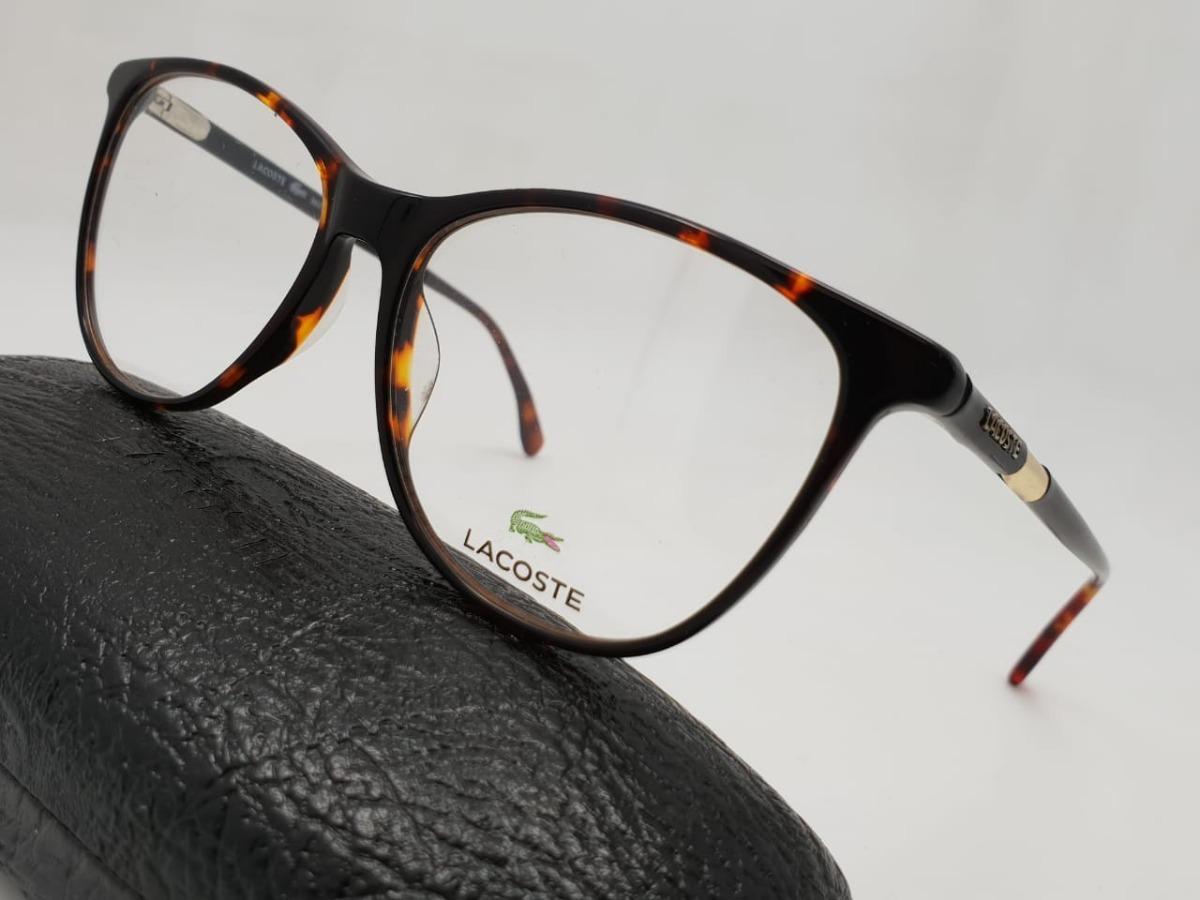 Monturas Gafas Marcos Lacoste Redondas Carey Mujer Cafes - $ 119.900 ...
