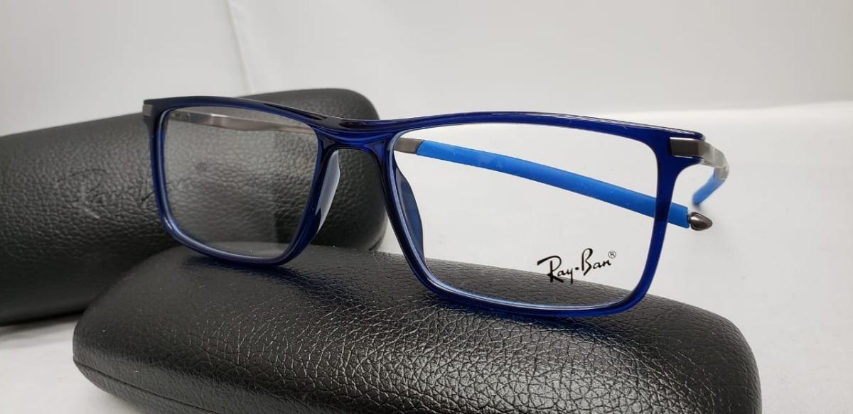 Monturas Gafas Marcos Rayban Azules Cuadradas Modernas - $ 119.900 ...